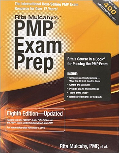 PMP Exam Prep - Book Cover